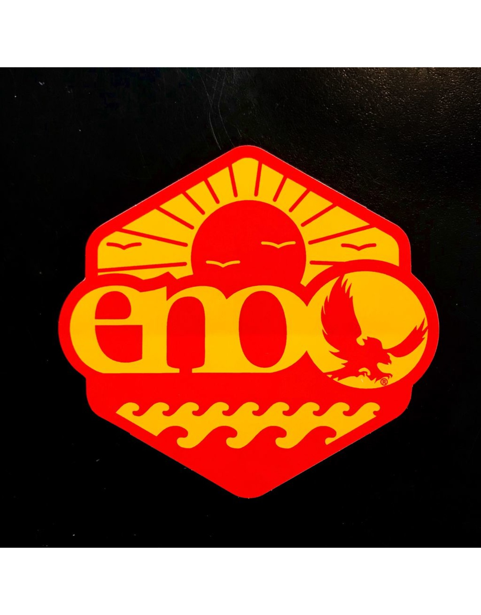 EAGLE NEST OUTFITTERS ENO SUNSET BEACH DECAL