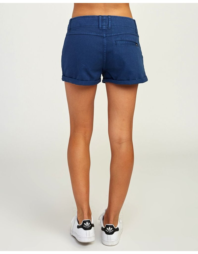 RVCA VALLEY TWILL LACE-UP SHORT