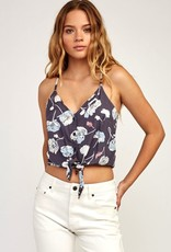 RVCA YOUR ESCAPE PRINTED TANK TOP