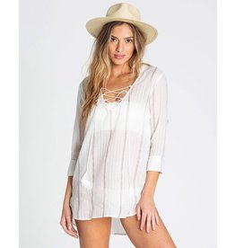 BILLABONG BILLABONG SAME STORY HOODED SWIM COVER UP