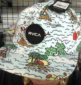RVCA PRINTED CAP