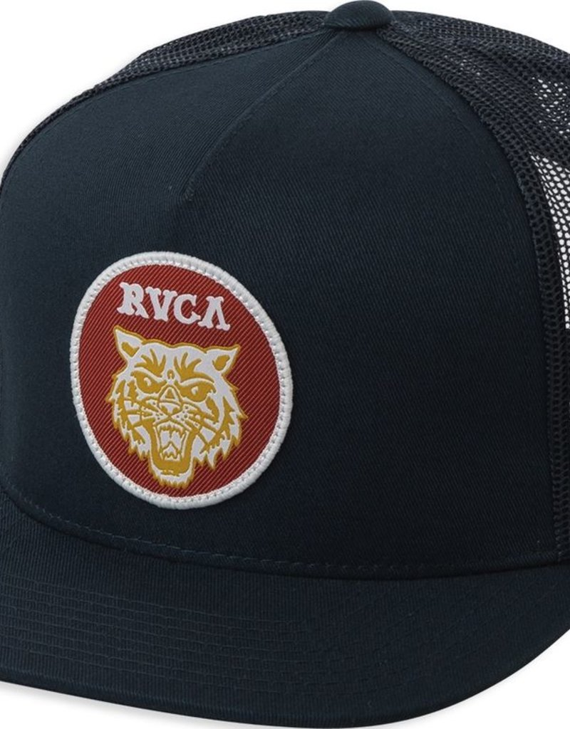 RVCA DMOTE TIGER PATCH TRUCKER HAT