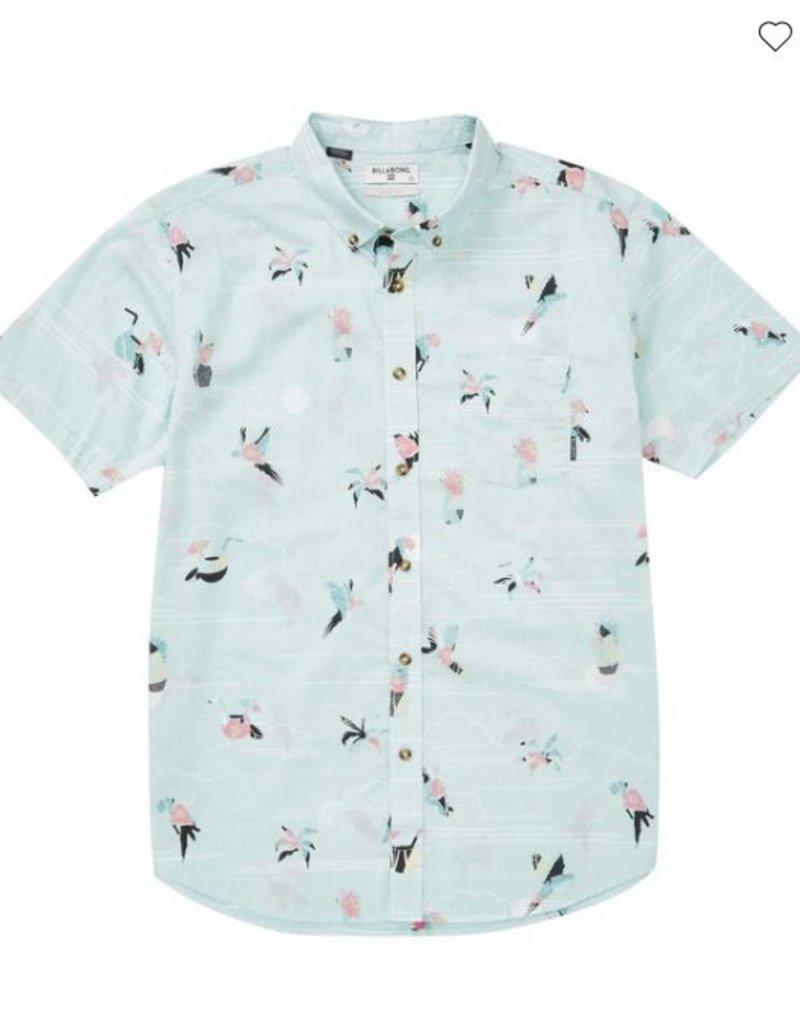 BILLABONG Sundays Mini Short Sleeve Shirt