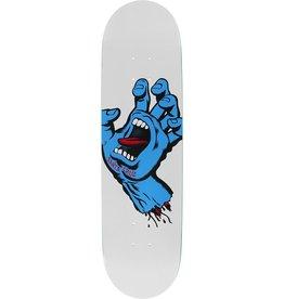 santa cruz 8.25in x 32.0in Screaming Hand Taper Tip Santa Cruz Skateboard Deck