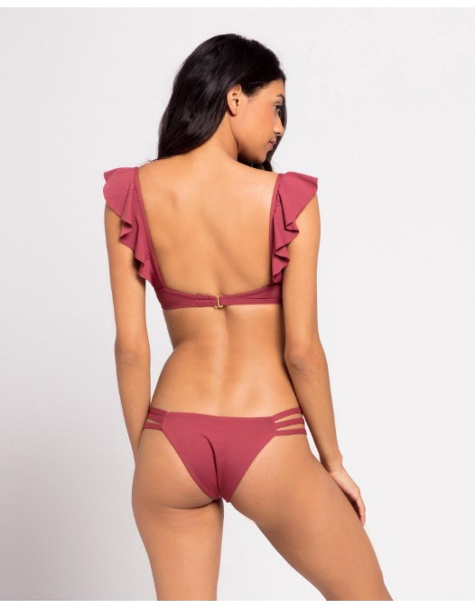 L*SPACE Rose Bikini Bottom
