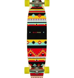 """MADRID Madrid Dude Africa 38.75"""" Pintail Longboard Complete (GENTLY USED)"""