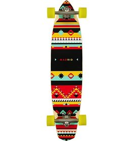 "MADRID Madrid Dude Africa 38.75"" Pintail Longboard Complete (GENTLY USED)"