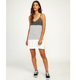 RVCA ODYSSEY STRIPED TANK DRESS