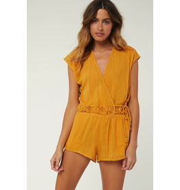 ONEILL SALT WATER SOLID COVER-UP ROMPER