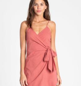 BILLABONG Island Wrap Wrap Dress