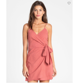 BILLABONG Island Wrap Wrap Dress