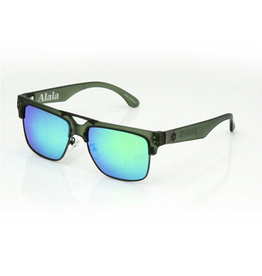 CARVE SUNGLASSES ALAIA POLARIZED IRIDIUM LENS - MATTE GREEN POLAR