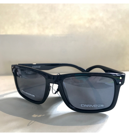 CARVE SUNGLASSES GOBLIN POLARIZED GREY LENS - BLACK