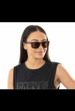 CARVE SUNGLASSES GOBLIN POLARIZED GREY LENS - BLACK