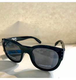 CARVE SUNGLASSES IVI POLARIZED GREY LENS - GLOSS BLACK