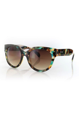 CARVE SUNGLASSES VIVIAN NON-POLARIZED BROWN LENS - TORTOISE