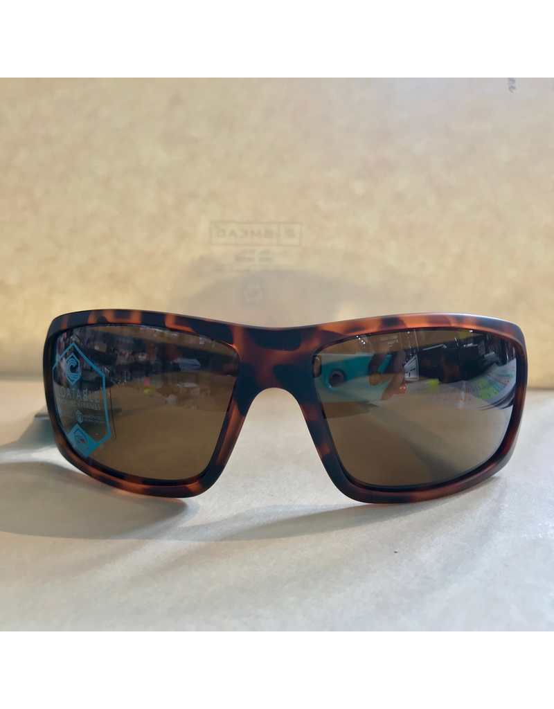 CARVE SUNGLASSES MORAY POLARIZED LENS FLOATING EDITION - MATTE TORTOISE