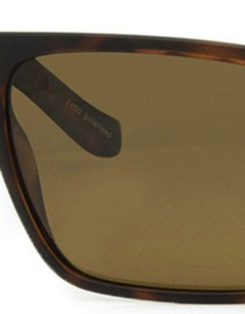 CARVE SUNGLASSES VENDETTA POLARIZED BROWN LENS - TORTOISE