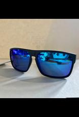 CARVE SUNGLASSES VENDETTA FLOATING EDITION POLARIZED BLUE IRIDIUM LENS - MATTE BLACK