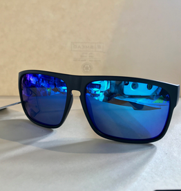 CARVE SUNGLASSES VENDETTA FLOATING EDITION POLARIZED BLUE IRIDIUM LENS - MATTE BLACK