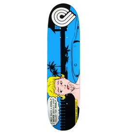 POWELL PWL/P POP ART DECK-8.0 BLUE