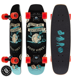 SECTOR 9 ROSHAMBO BAT RAY