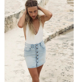 BILLABONG Good Life Denim Skirt