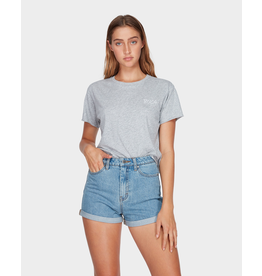RVCA HI ROLLER HIGH RISE DENIM SHORT<br /> HI ROLLER HIGH RISE DENIM SHORT