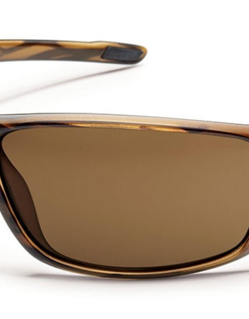 SunCloud SUNCLOUD VOUCHER Brown Stripe Frame/Polarized Brown Lens