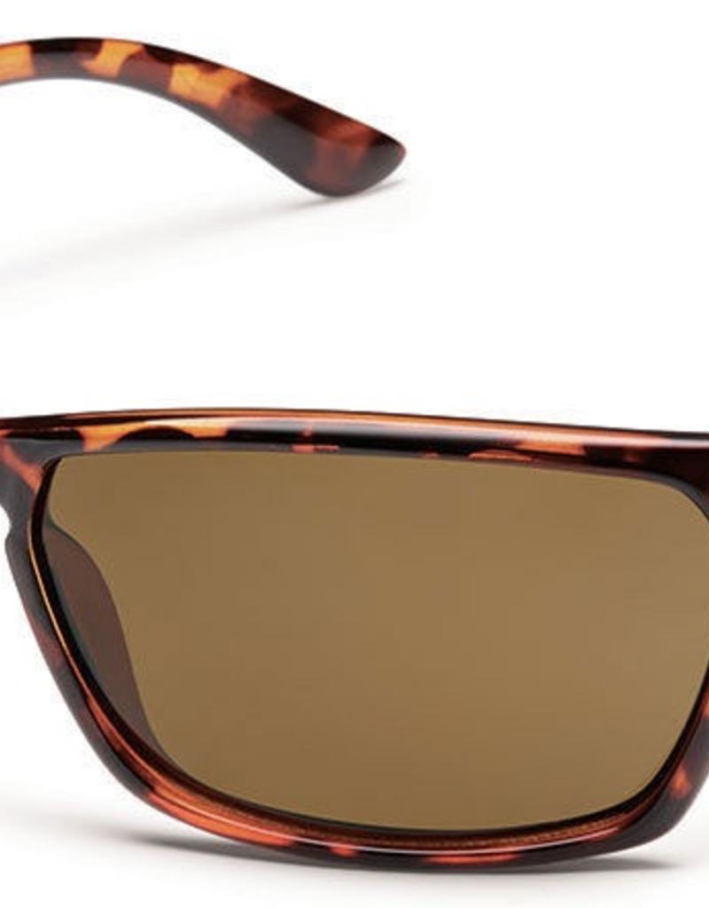 SunCloud SUNCLOUD CUTOUT Tortoise Frame/Polarized Brown Lens