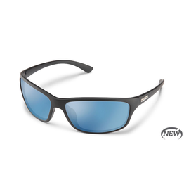 SUNCLOUD SENTRY (MEDIUM FIT) - MATTE BLACK POLARIZED BLUE MIRROR