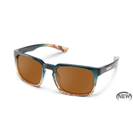 SUNCLOUD HUNDO (MEDIUM FIT) - OCEAN FADE POLARIZED BROWN