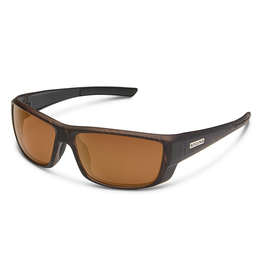 SUNCLOUD LOCK (SMALL-MEDIUM FIT) - BURNISHED BROWN/POLARIZED POLYCARBONATE BROWN
