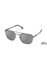 SUNCLOUD FAIRLANE (MEDIUM FIT) - MATTE GUNMETAL POLARIZED GRAY
