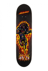 santa cruz 8.0in x 31.7in Asta Cosmic Cat Powerply Santa Cruz Skateboard Deck