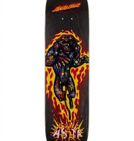 santa cruz 8.0in x 31.7in Asta Cosmic Cat Powerply Santa Cruz Skateboard Deck