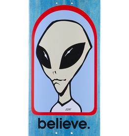 """ALIEN WORKSHOP Believe 8.0"""" Skateboard Deck"""