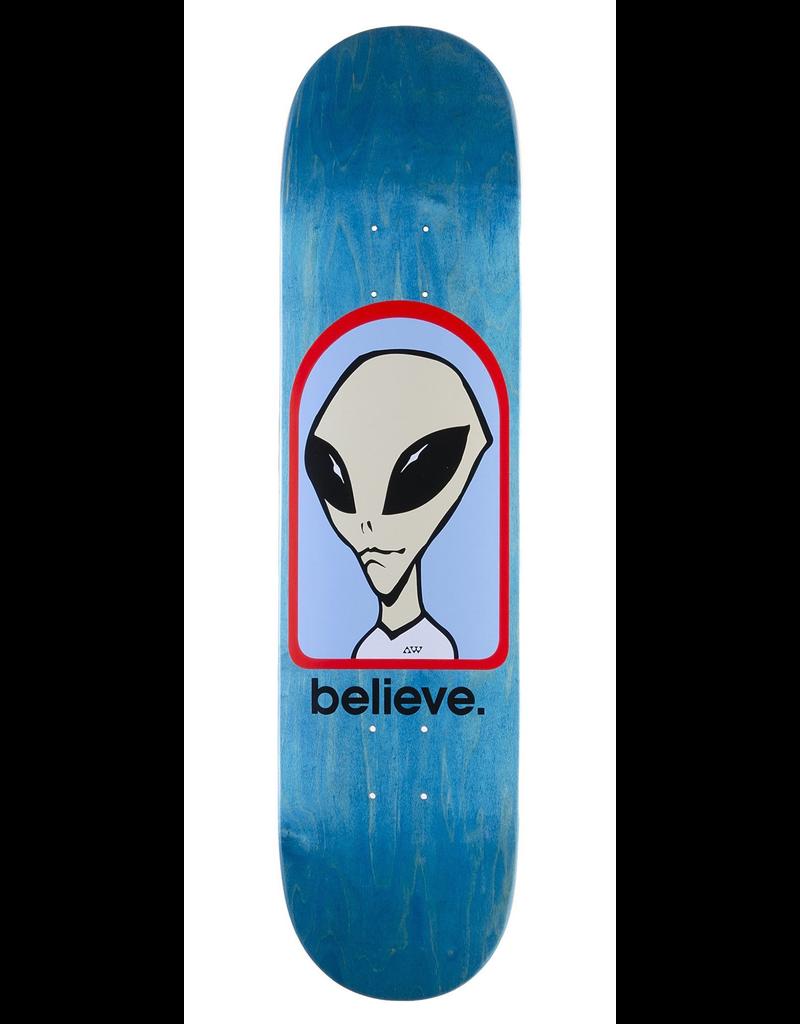 Alien Workshop Believe Logo Skateboard Deck 8