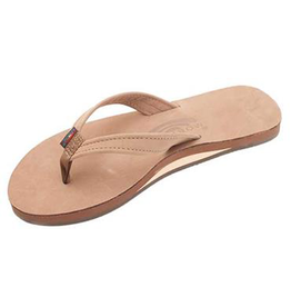 LADIES RAINBOW CATALINA SINGLE LAYER DARK BROWN PREMIER