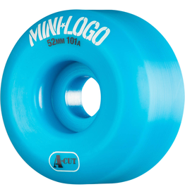 mini logo MINI LOGO A-CUT 52mm WHEELS (BLUE)