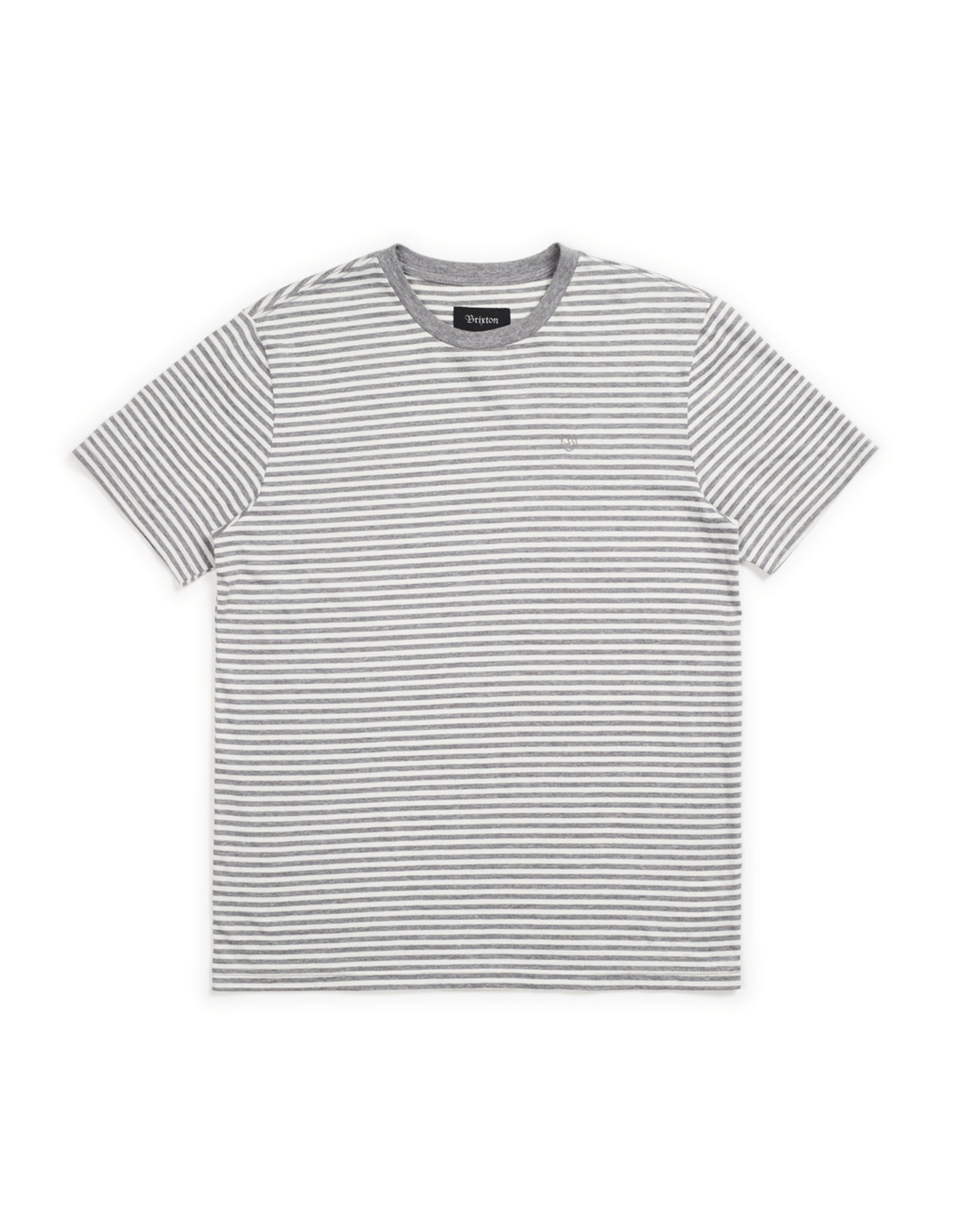BRIXTON BRIXTON PABLO S/S KNIT (HEATHER GREY)