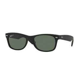 RAYBAN NEW WAYFARER - LIMITED EDITION RUBBER BLACK POLAR GREEN