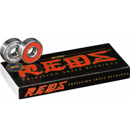 BONES BONES REDS BEARINGS- SINGLE SET