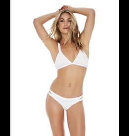 L*SPACE Ribbed Farrah Bikini Top