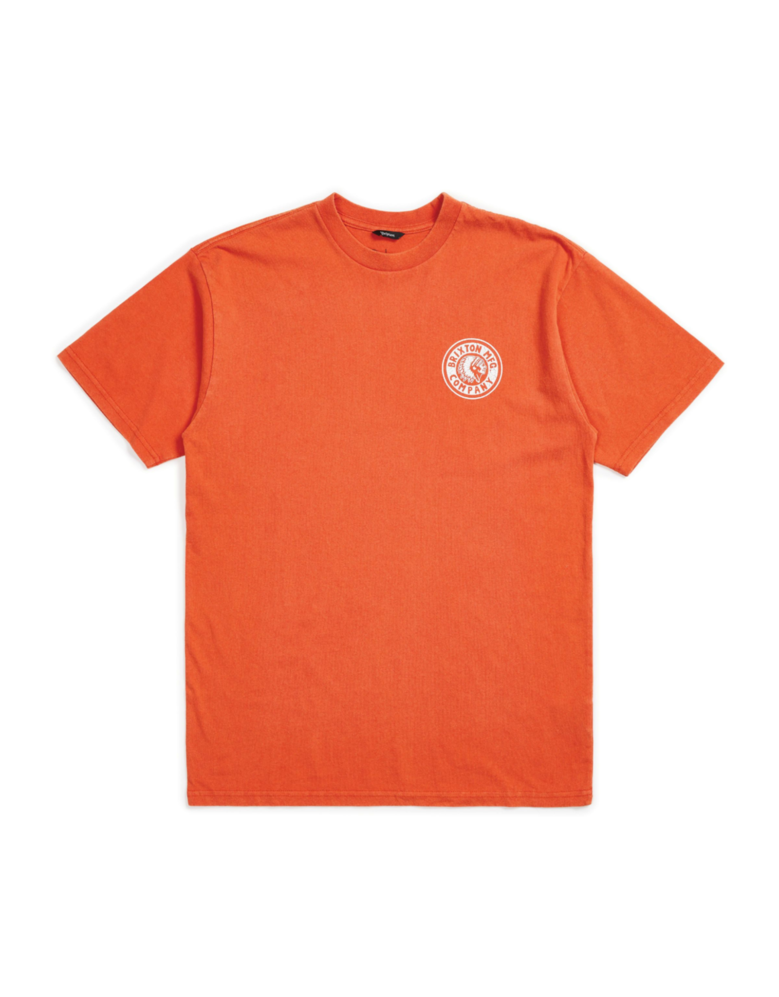 BRIXTON BRIXTON RIVAL II S/S STANDARD TEE (RED CLAY)