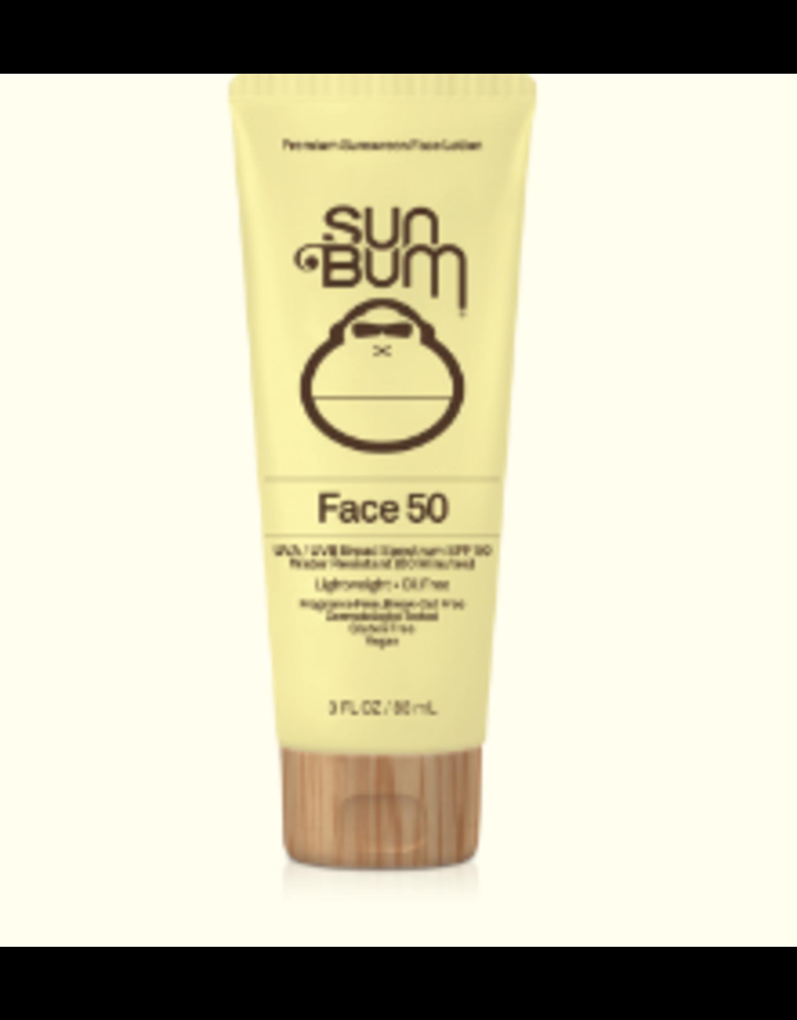 SUN BUM Original Sunscreen Face Lotion - SPF 50 - 3oz