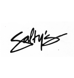 SALTY'S LOGO STICKERS SALTY'S SIMPLE LOGO STICKER- 3 INCHES