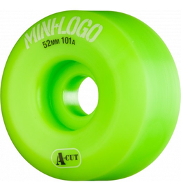 MINI LOGO MINI LOGO SKATEBOARD WHEELS A-CUT 52MM 101A GREEN 4PK