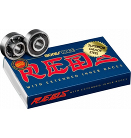 BONES BONES RACE REDS SKATEBOARD BEARINGS 8 PACK