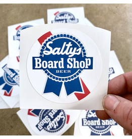 SALTY'S LOGO STICKERS PBR STYLE LOGO STICKER